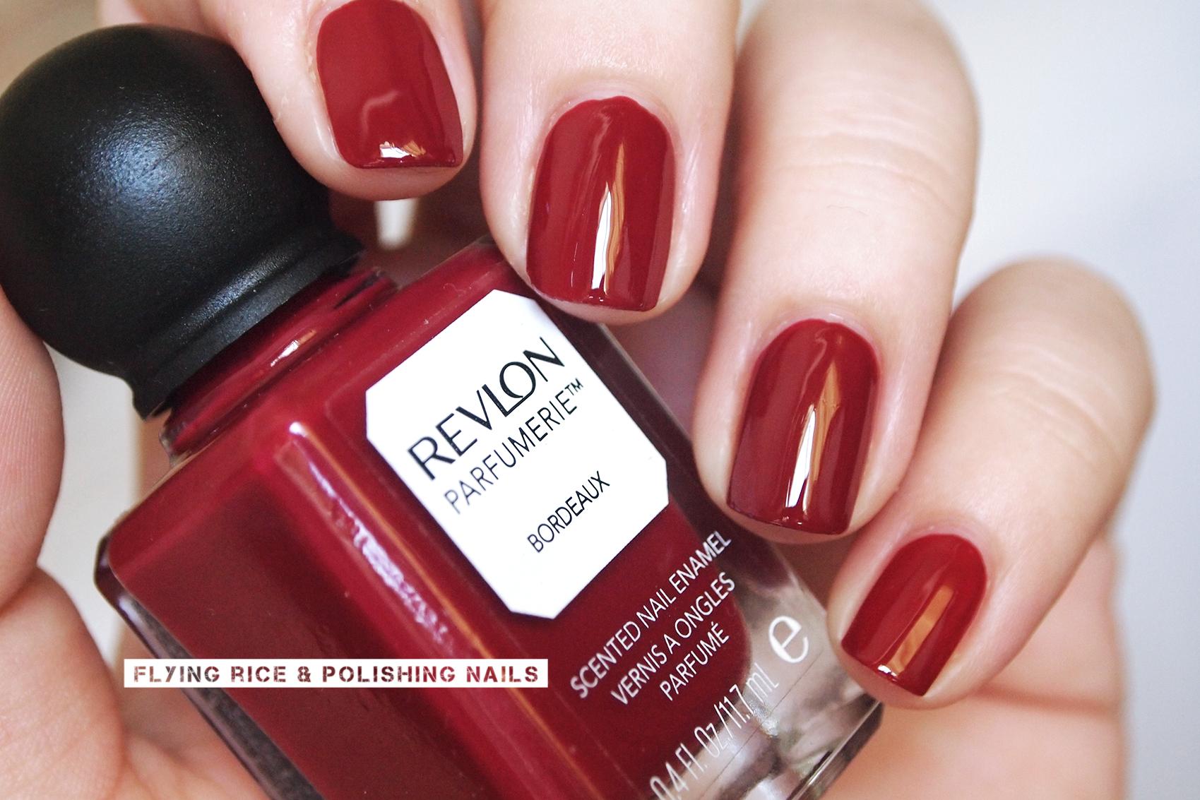 revlon parfumerie sniff test: vino fingers | flying rice & polishing ...