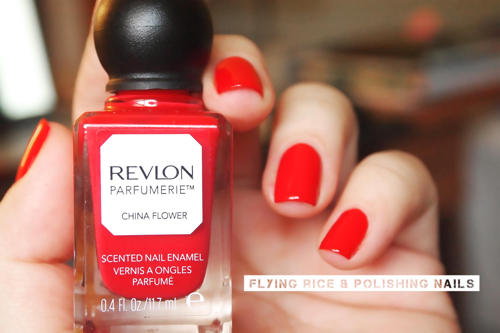 revlon parfumerie sniff test: that\'s one hot flower | flying rice ...